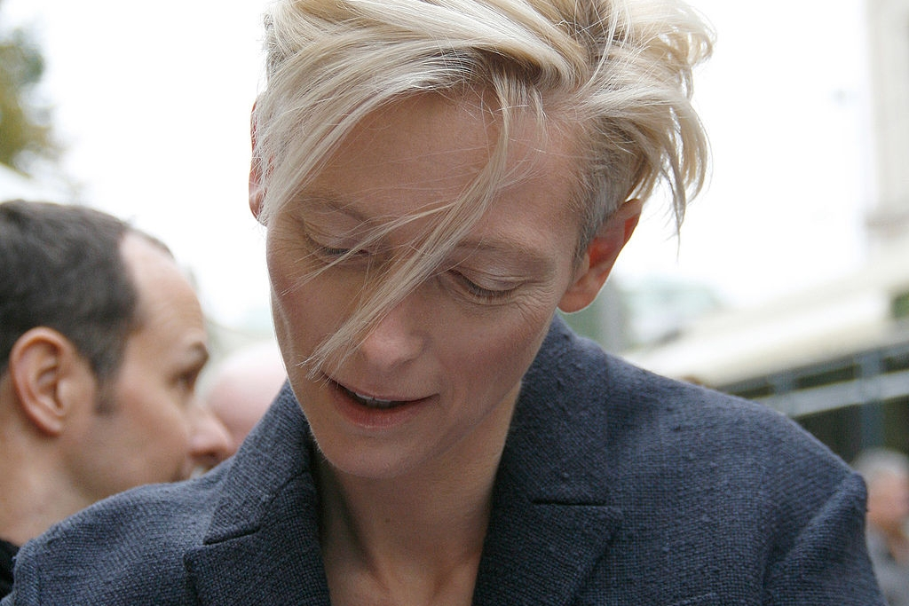 Tilda Swinton. Photo credit: Manfred Werner - Tsui [ GFDL  or  CC BY-SA 3.0 ],  via Wikimedia Commons