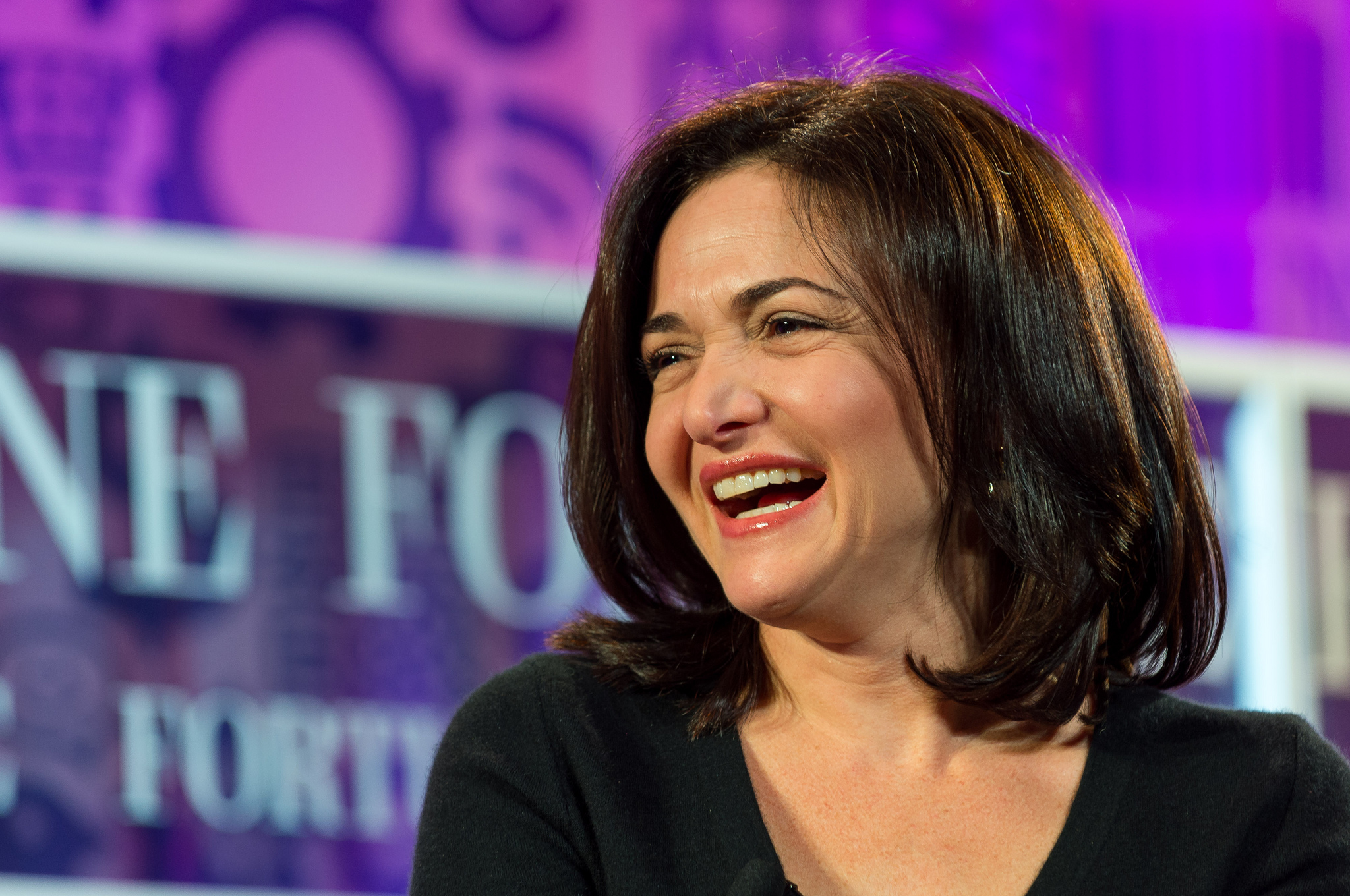 LeanIn.org founder Sheryl Sandberg. Photo credit: Fortune Live Media [ CC BY-NC-ND 2.0 ],  via Flickr