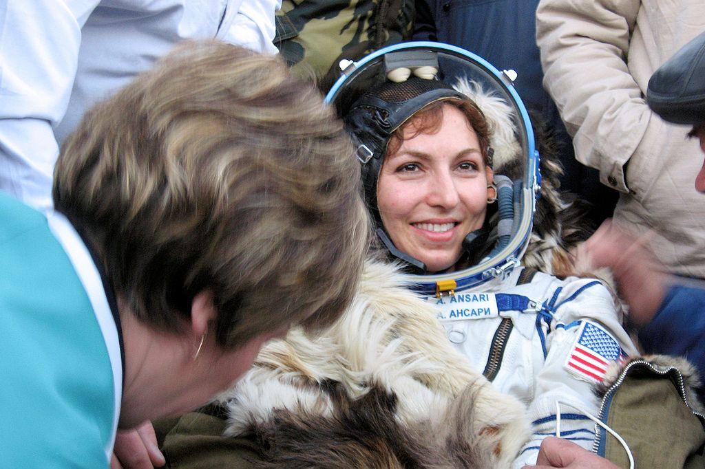 spaceflight participant Anousheh Ansari