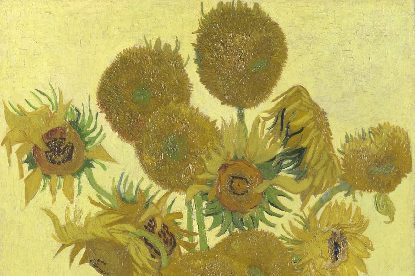 Sunflowers , Vincent Van Gogh. 1888