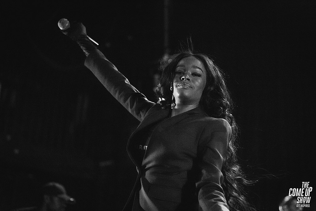 Azealia Banks. Photo credit: The Come Up Show from Canada [ CC BY 2.0 ],  via Wikimedia Commons