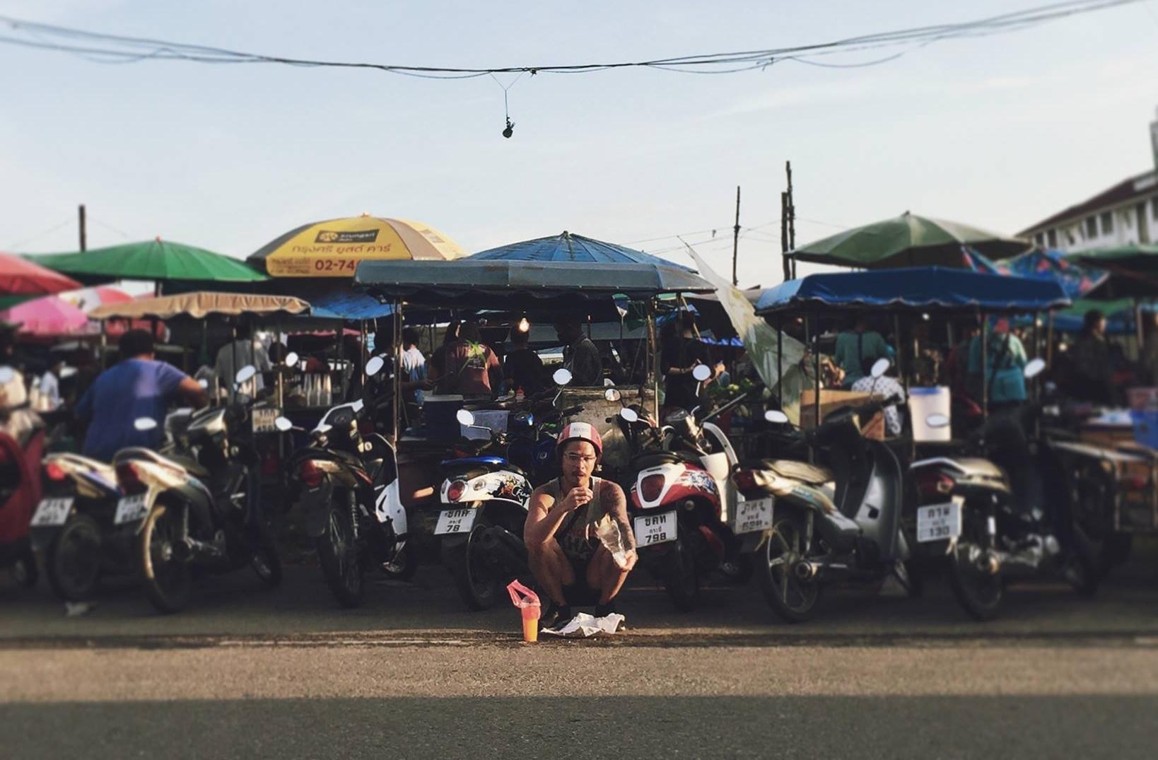 Somewhere in Thailand.