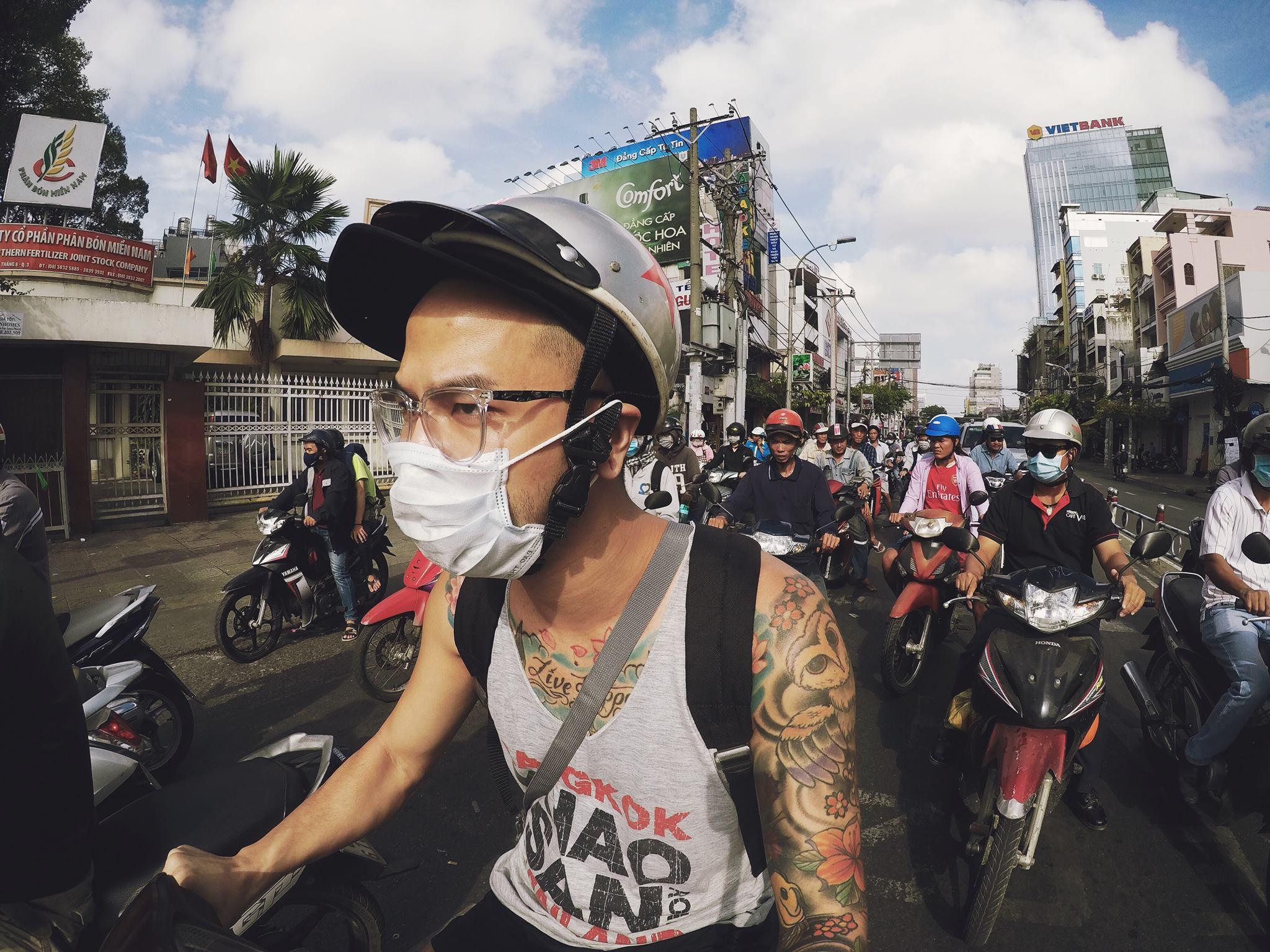 Blending in somewhere in Vietnam.
