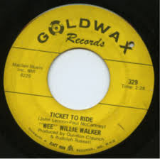Ticket To Ride    b/w There Goes My Used To Be    Goldwax 329/1967