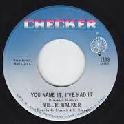 You Name It, I've Had It    b/w You're Running Too Fast    Checker 1198/1968
