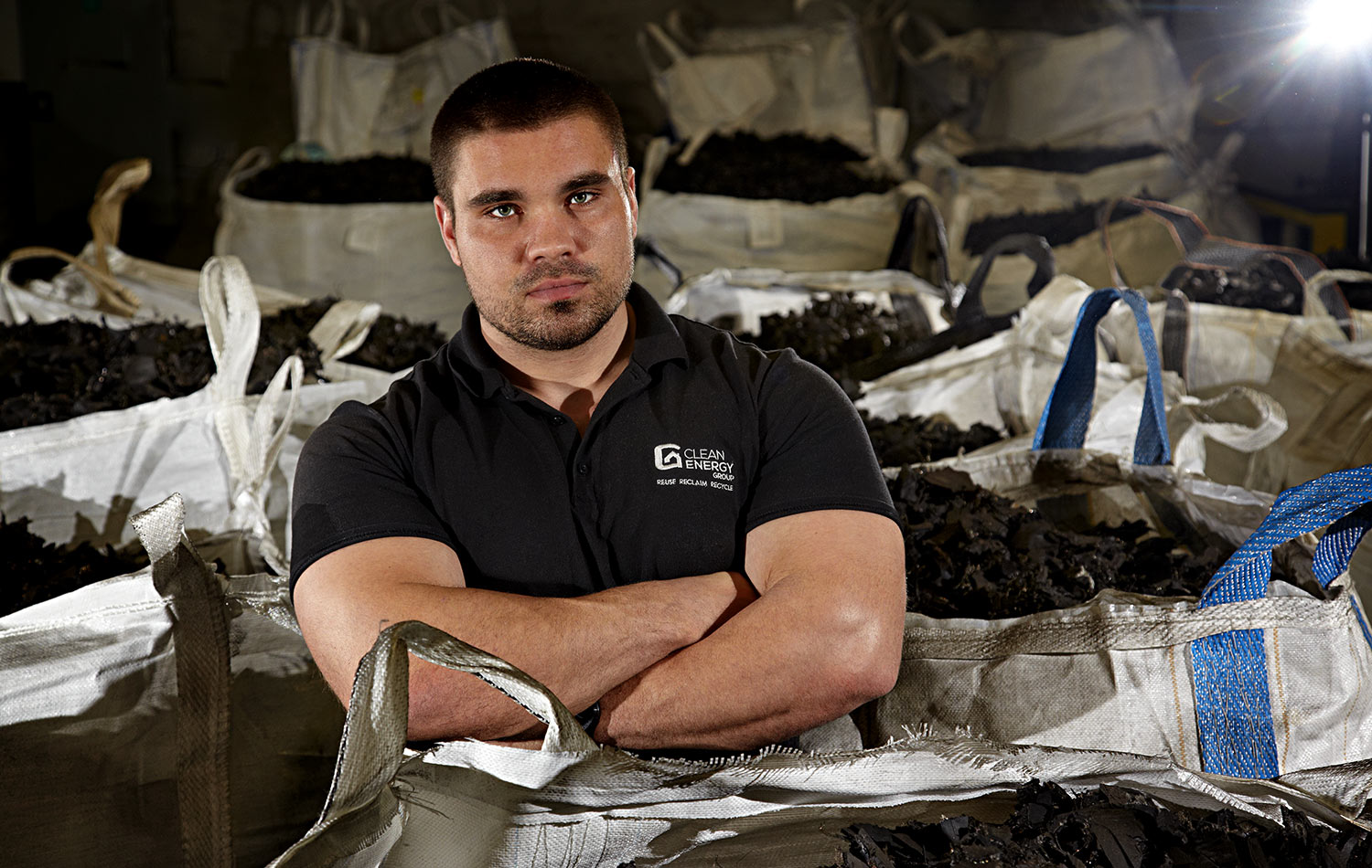 Clean Energy Group Owner - recycler of old tyres