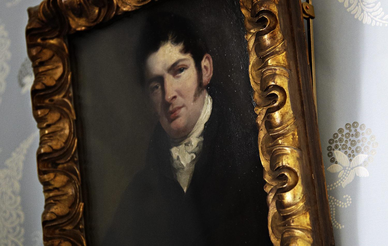 Portrait of John Keats