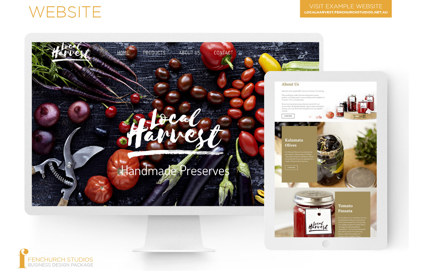 Website imagery Local Harvest