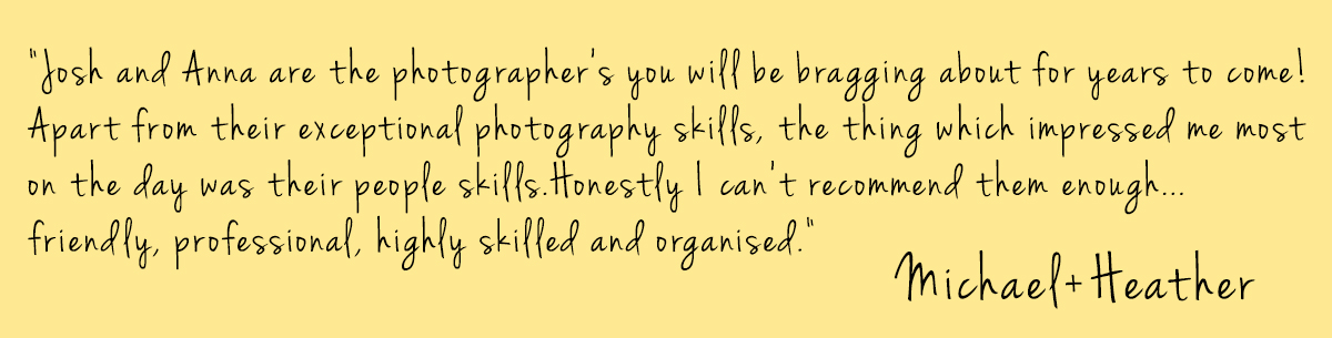 J+A Photography Feedback