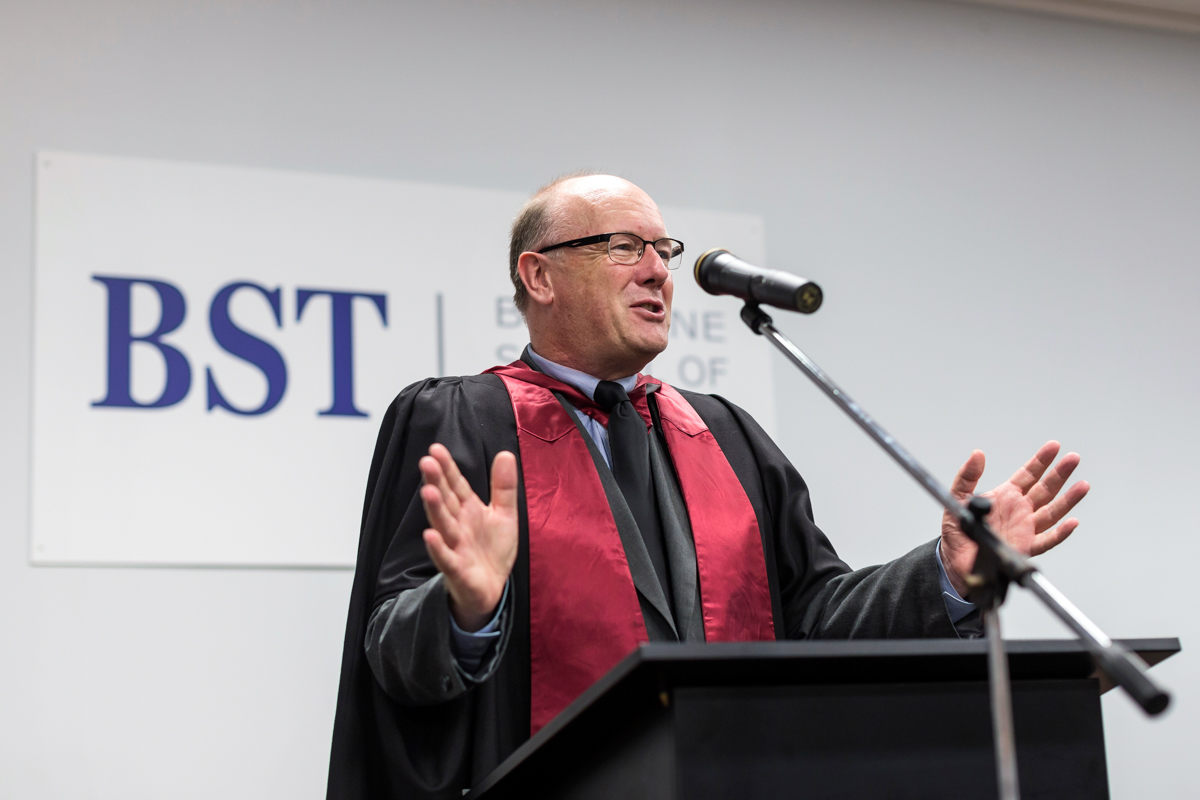 Brisbane School of Theology 2017 Graduation. - Graduating ceremony Tuesday 27th February 2018.