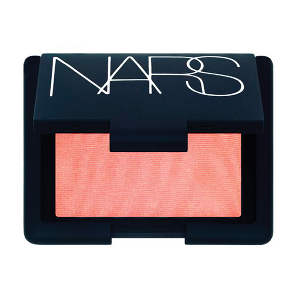 """via somemagazine.com    This is a cult favorite - I'm pretty sure everybody knows about it. NARS Orgasm is such a pretty shade. Itgives you that """"post workout glow"""" and looks goodon just about anyone!"""