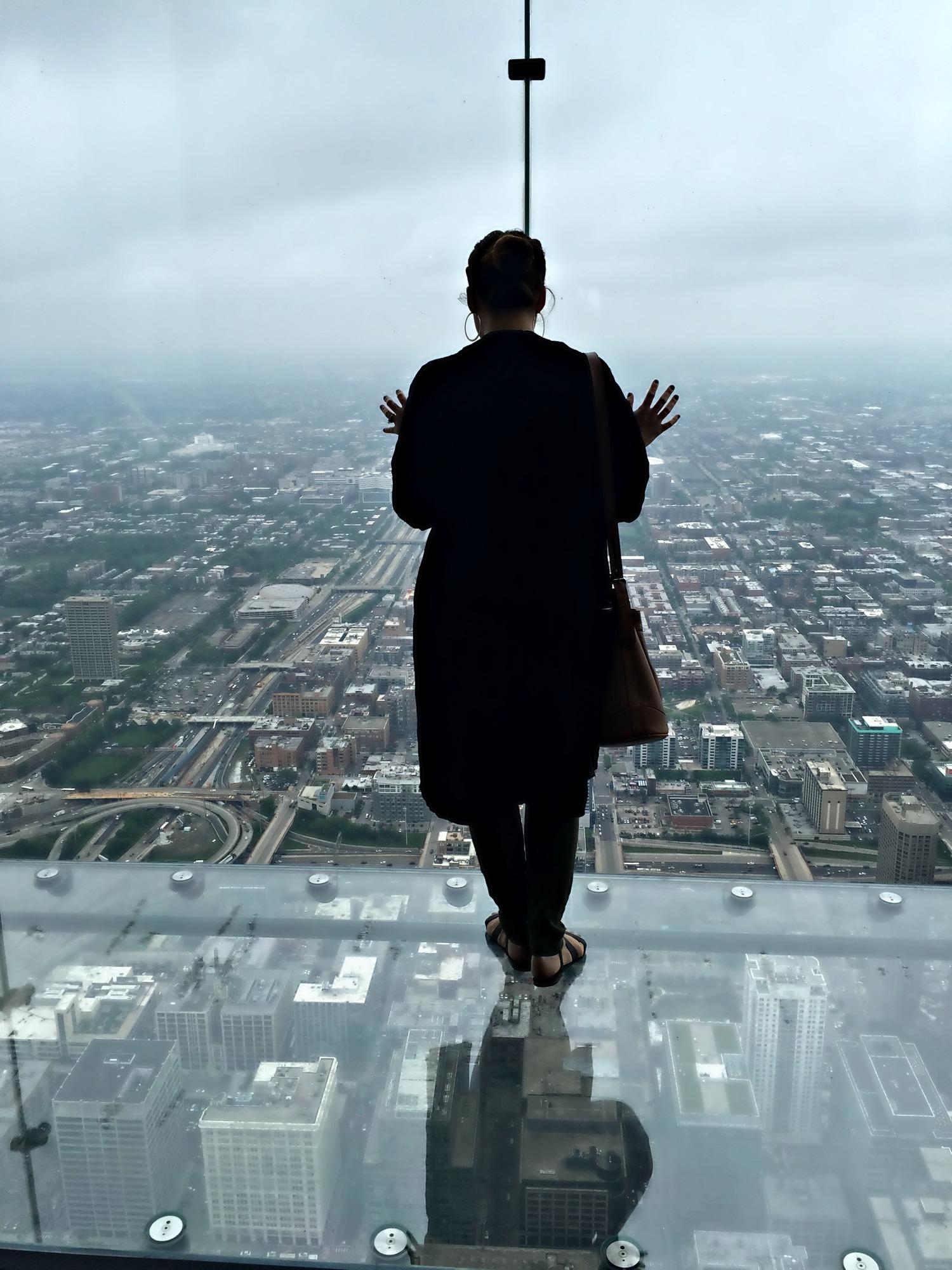 1, 353 Feet Up