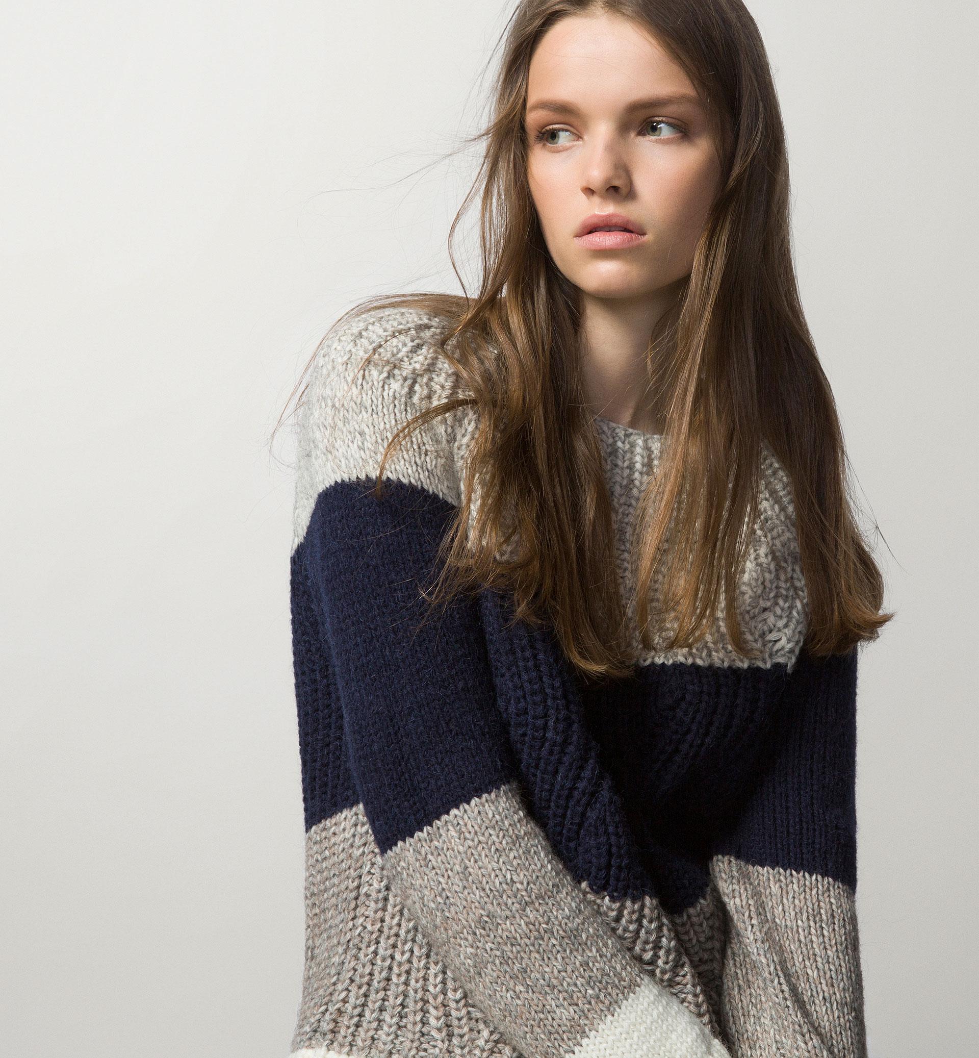 Striped Chunky Knit