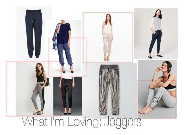 Runaway Drape Tie Waist Trousers  |  Woven Jogger Pant  |  Rayah Silk Pant  |  Back Zip Joggers  |  Marled Knit Striped Joggers  |  Utility Jogger  |  Print Soft Jogger  |  CK Logo Sweat Pants