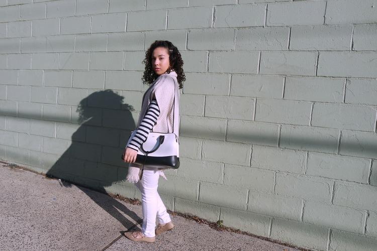 All White + Stripes