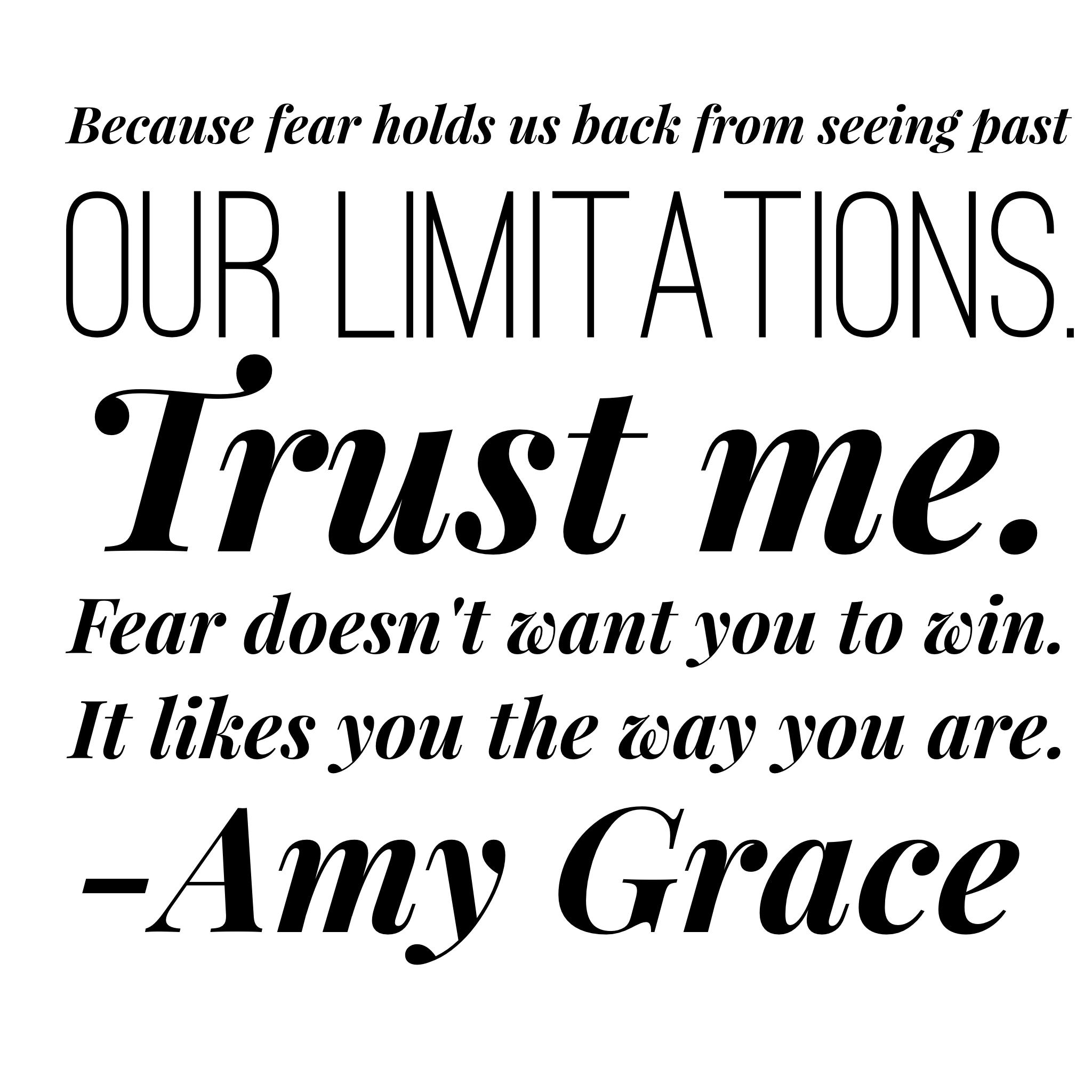 Fear Limitations