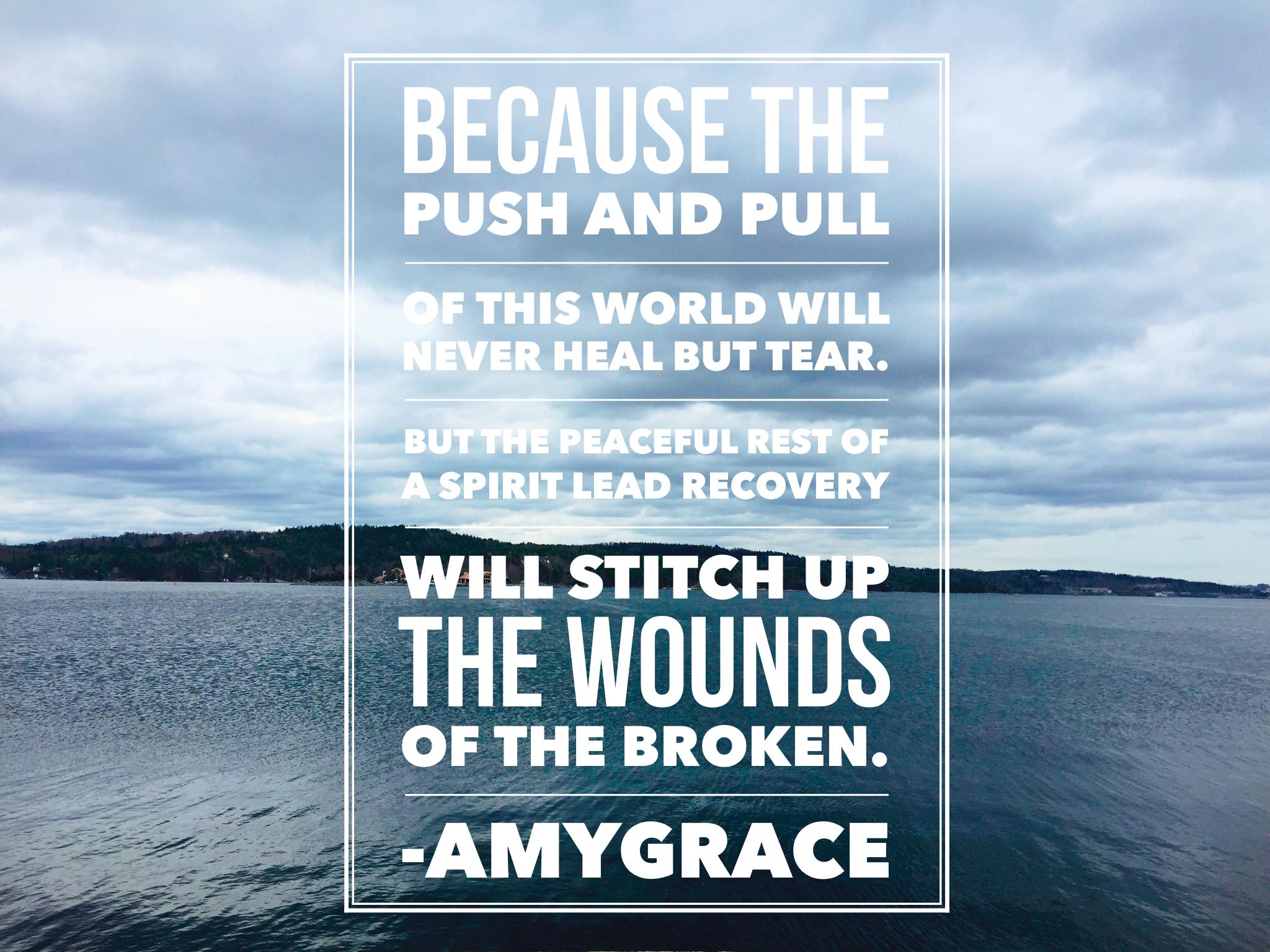 Recovery-Amygrace
