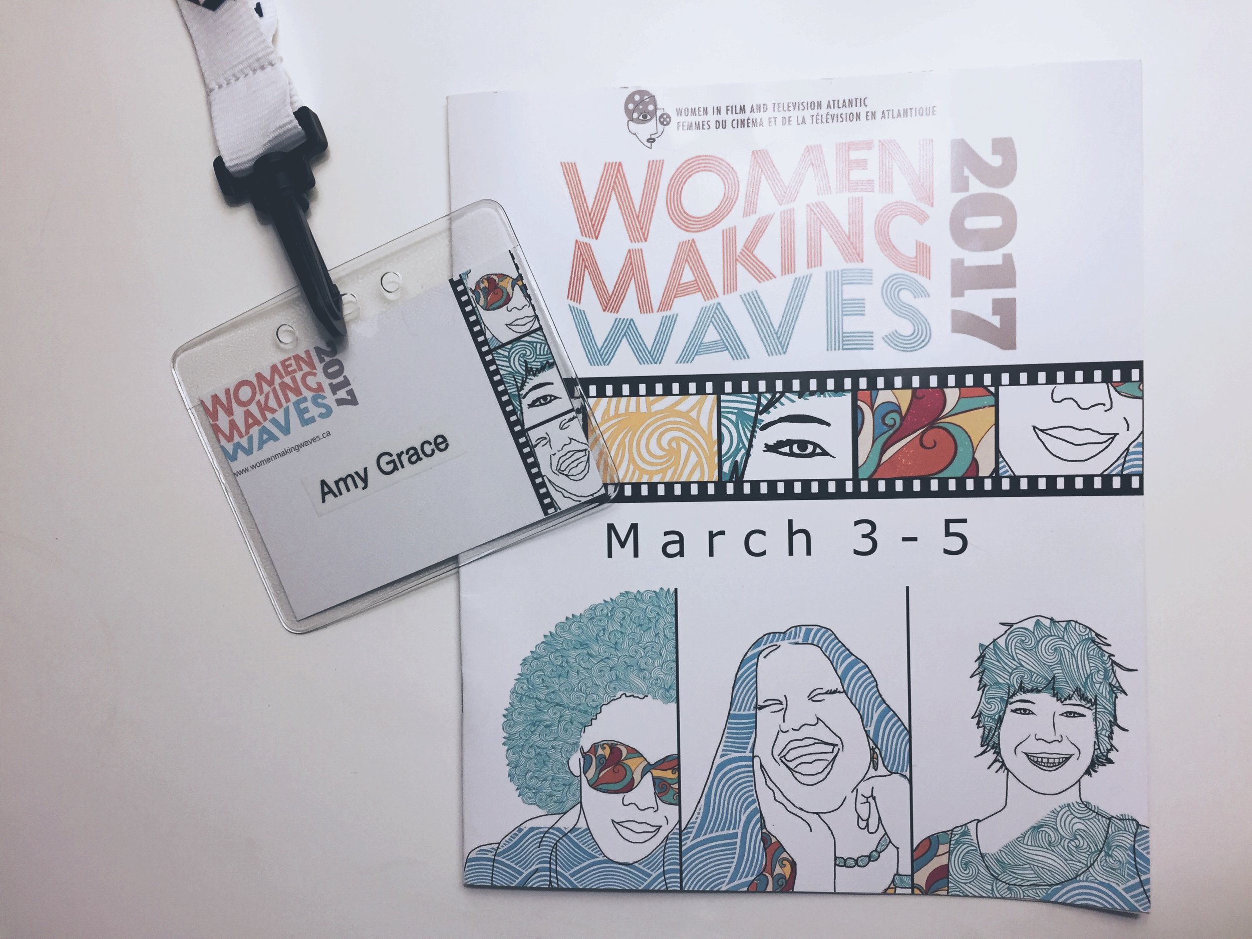 Being accepted into the New Waves Program gave the opportunity to attend the Women Making Waves Conference. Utterly inspiring.
