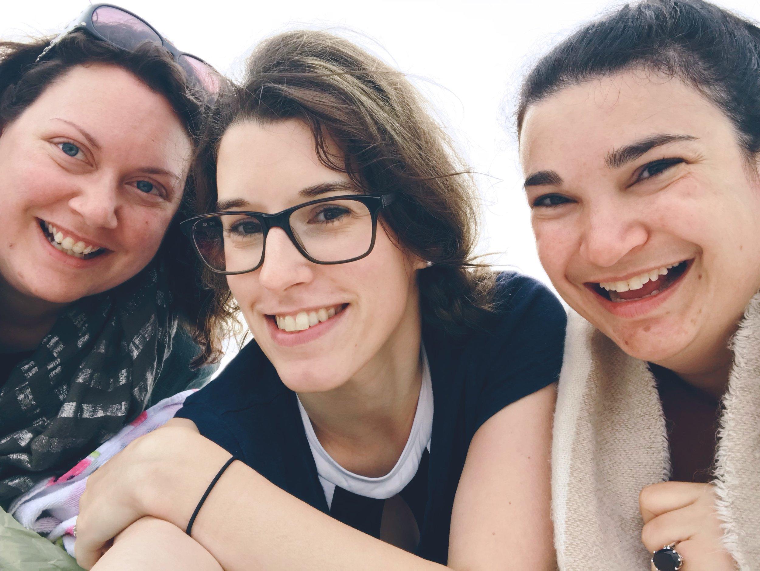 Rachel Fricker, Amy Grace,  Danielle Doiron