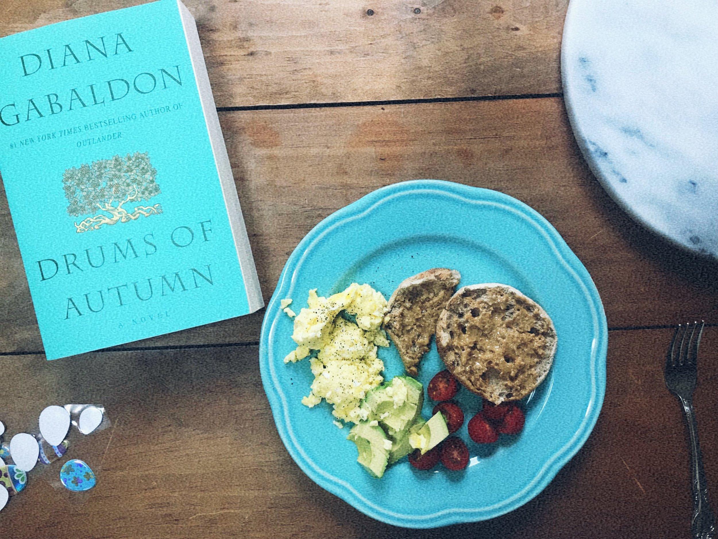 Typical Scrambled eggs Breakfast.