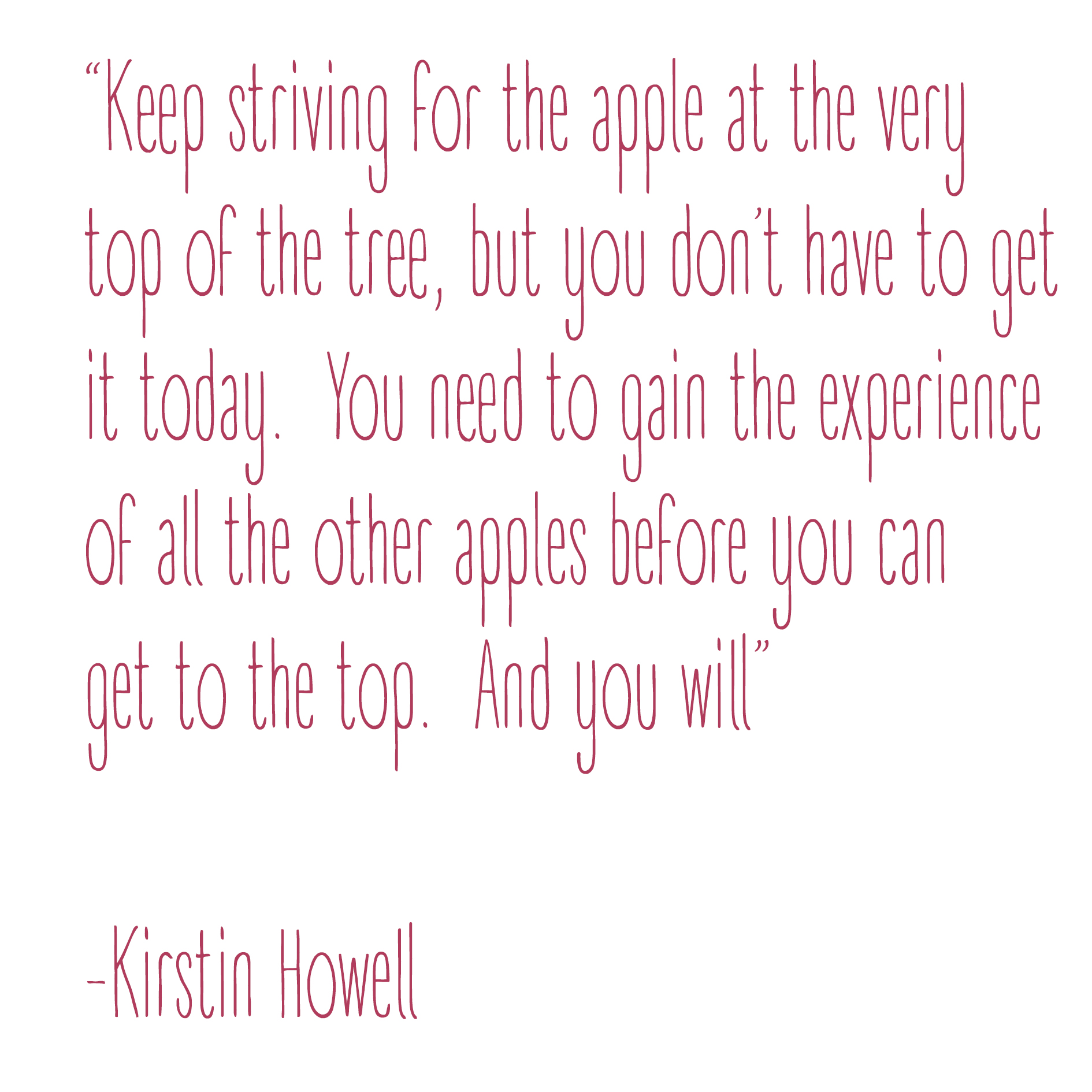 kirstin.howell.quote