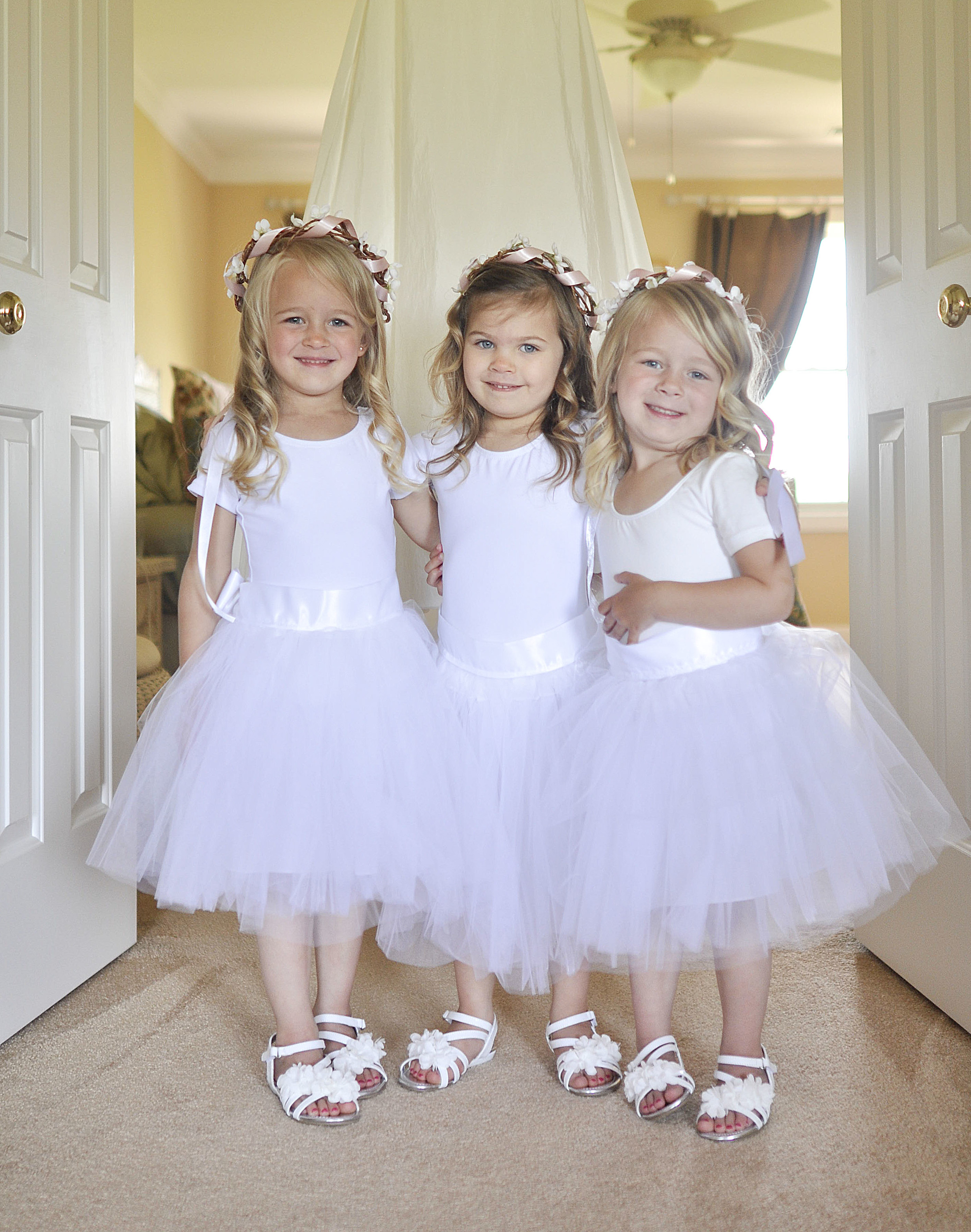 These flower girls were adorable! Three cousins who got to dress up together? Priceless.