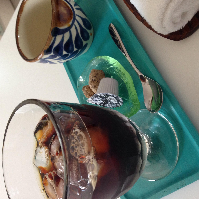 Anchor特製アイスコーヒーの出来上がりです。