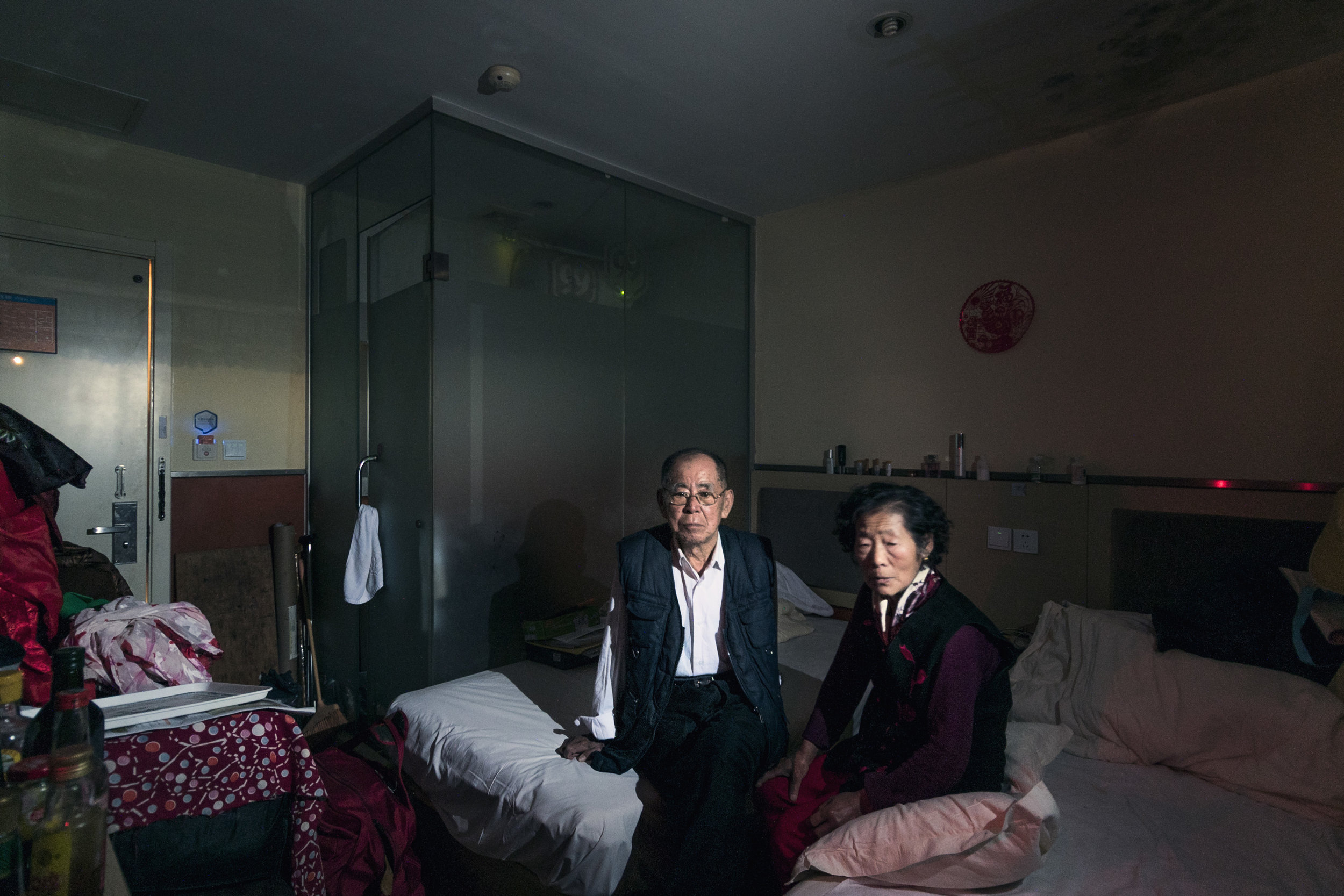 Li and his wife have lived in a motel since July 28th, 2015, when his house was demolished with no compensation.