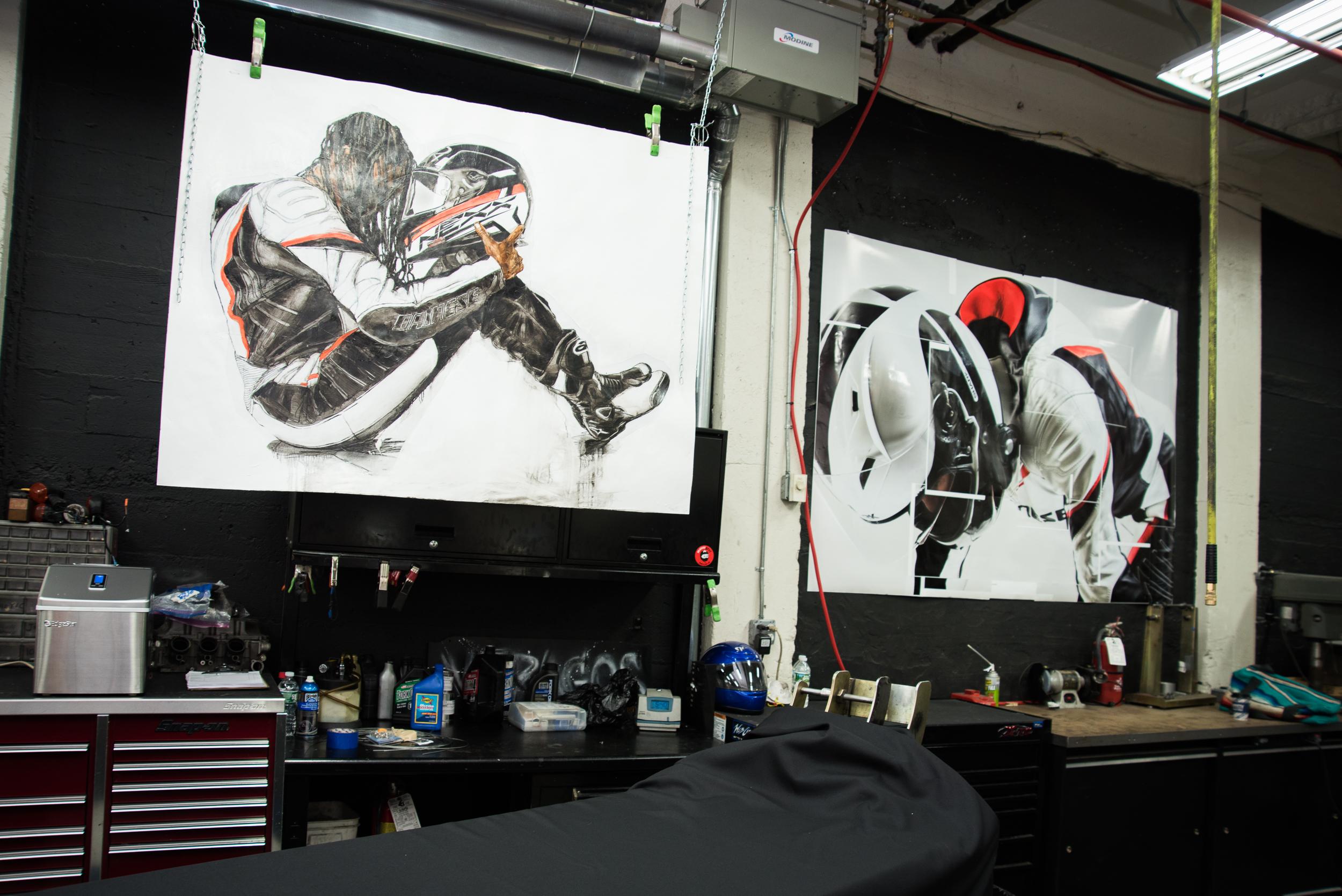 Motorgrrl Artshow 2018 NYC New York Brooklyn Williamsburg Moto Motorcycle Art Atticus Anonymous Grace Roselli 1.jpg