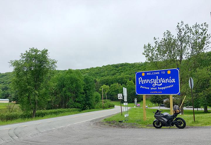 atticus anonymous memorial day weekend pennsylvania women who ride moto motorcycle adventure trip nature 2018.jpg