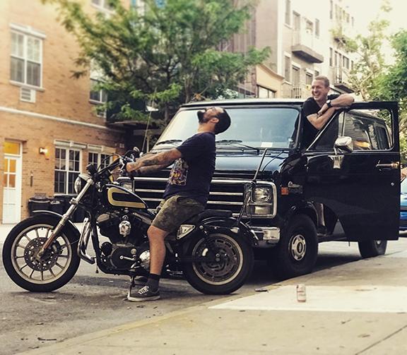Dirty Billy Brooklyn NYC Moto Community Garage Shop 1978 Chevy G20 Van Services Adam Gallagher.jpg