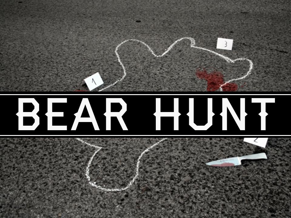 Bear Hunt (gummy bears and whipped cream).jpg