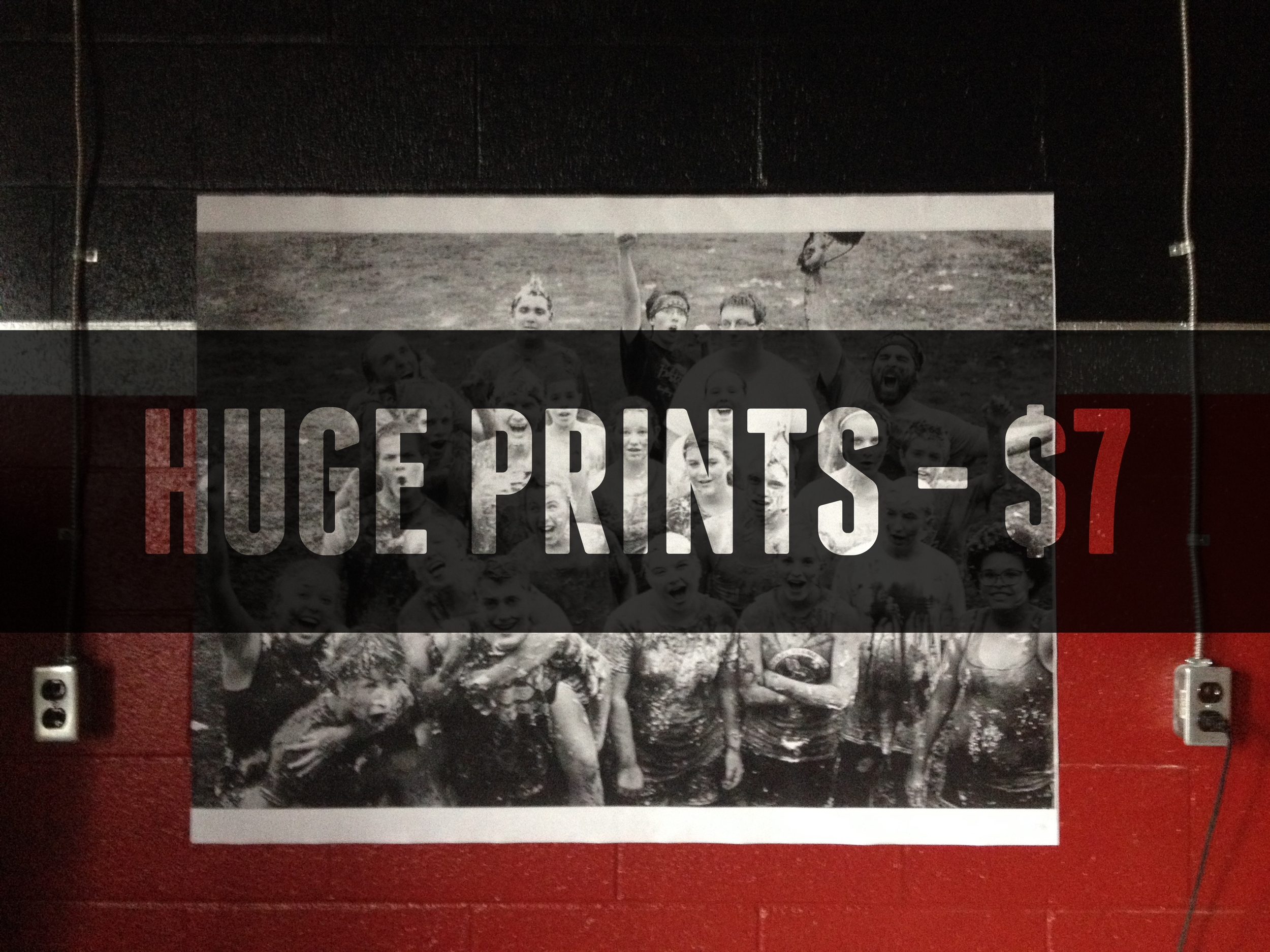 Huge Prints for Cheap