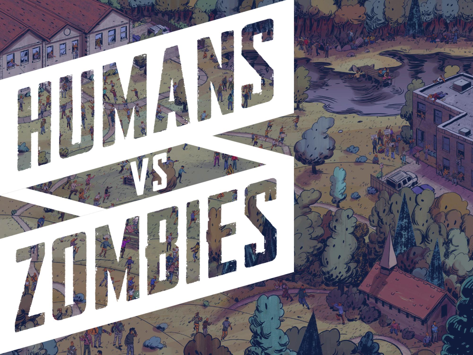 Humans vs Zombies Slide Left