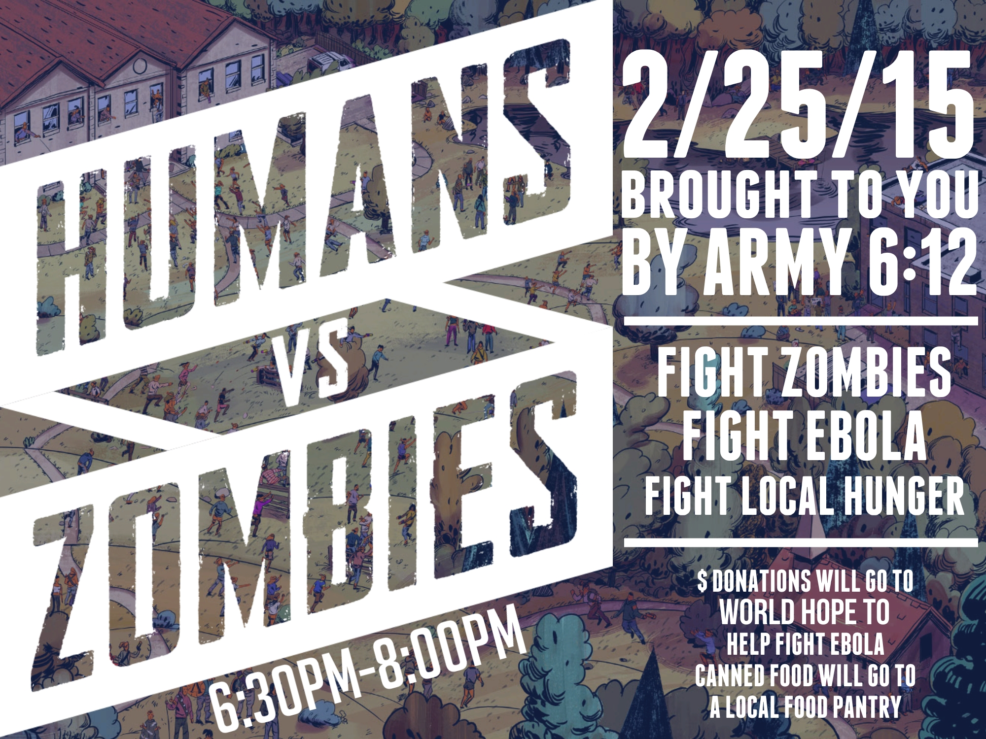 HUmans vs zombies wdate and time.jpg