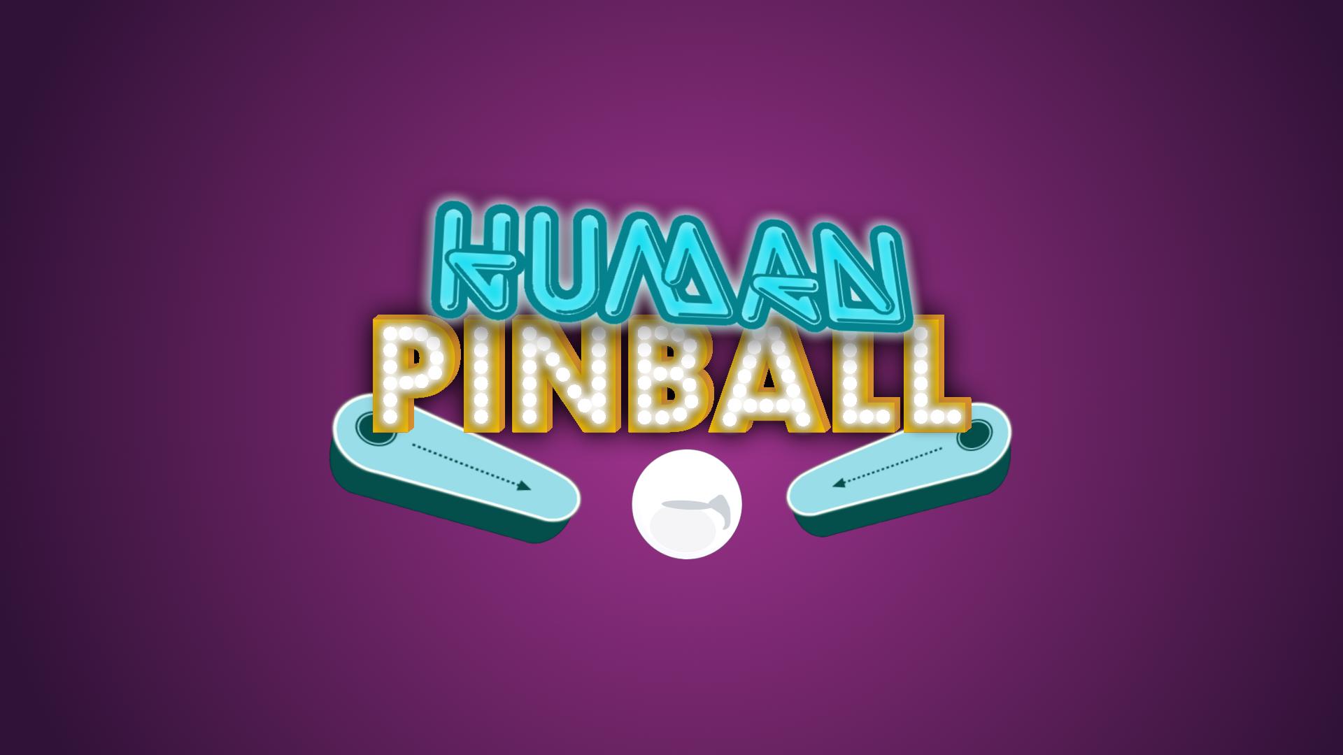 human pinball HD Youth group collective games