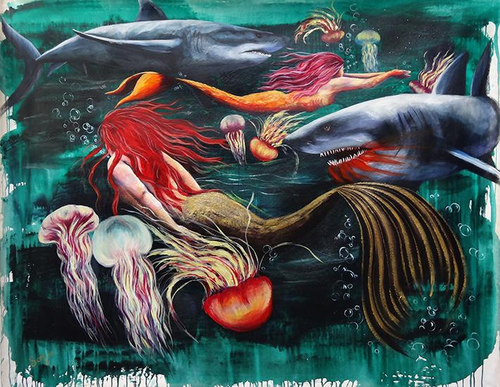 Jellyfish and Mermaids