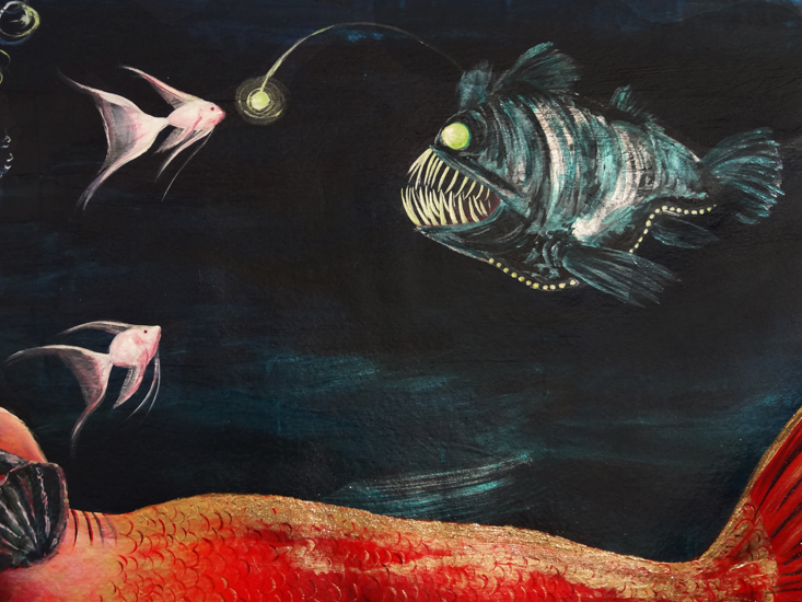 Anglerfish (Detail)