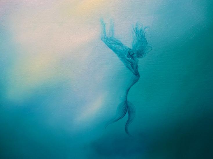 Mermaid's Kiss (detail)