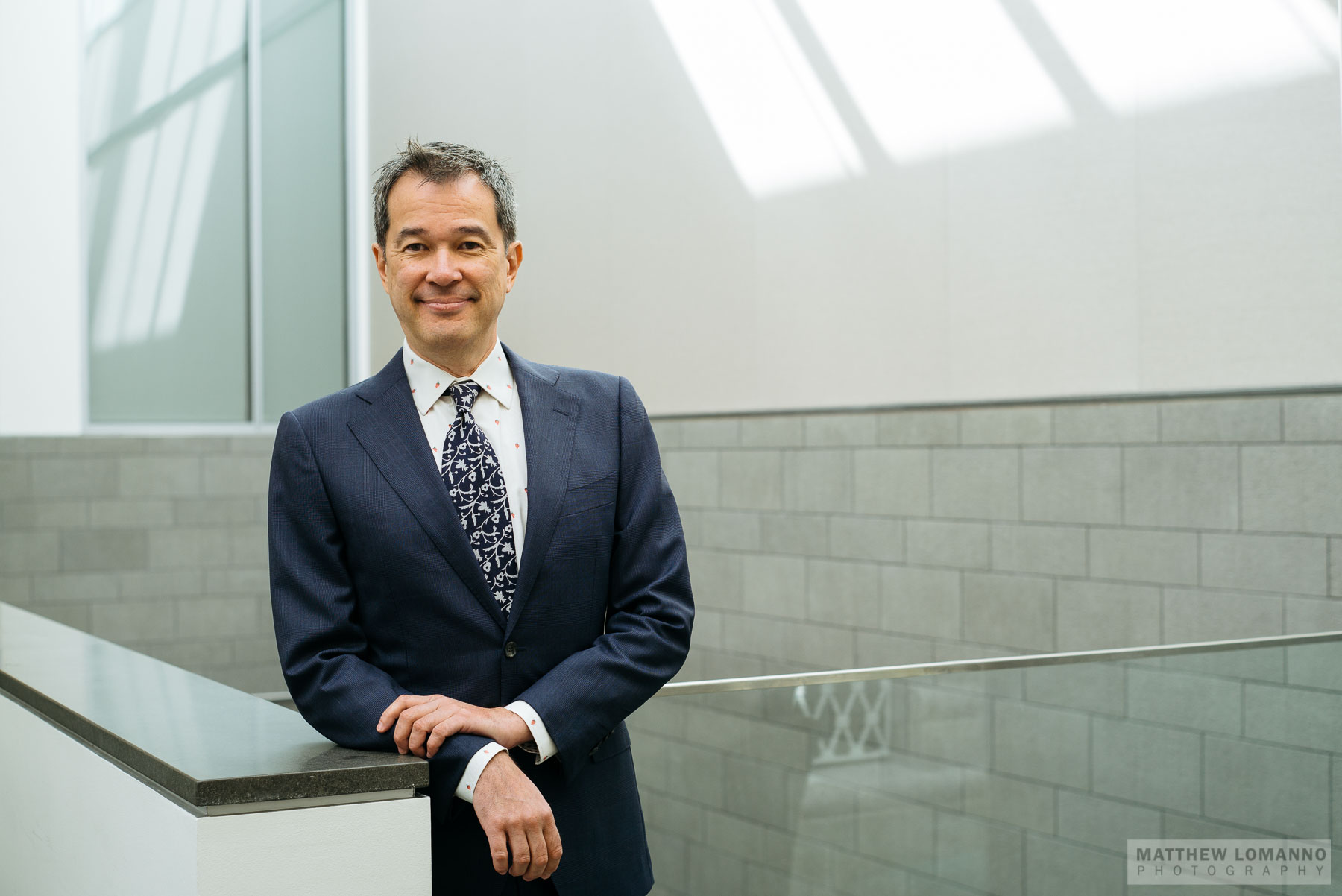 Alan Chong, executive director of the Currier Museum of Art