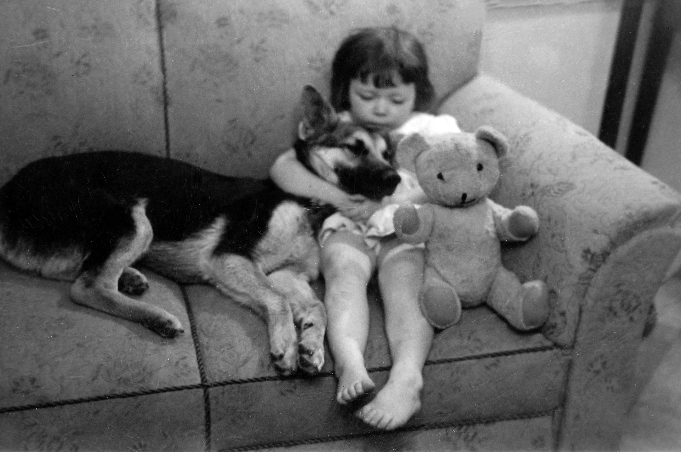Me and my childhood bear