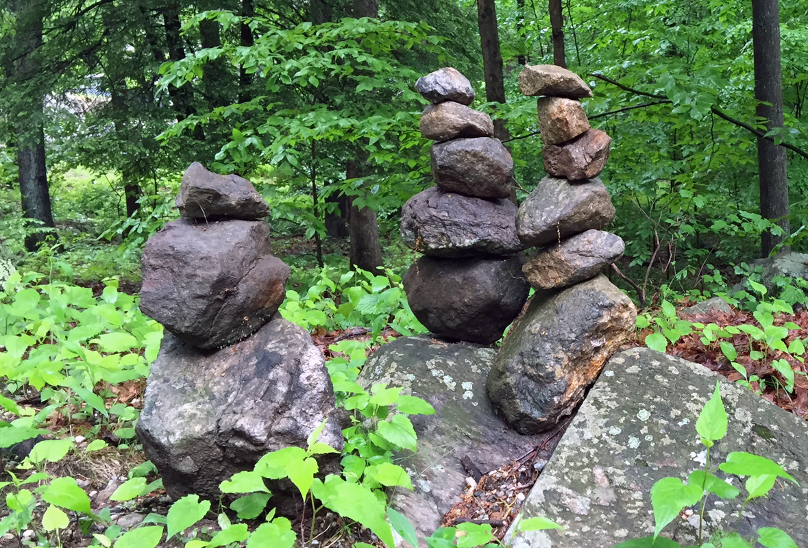 doug's rock sculptures