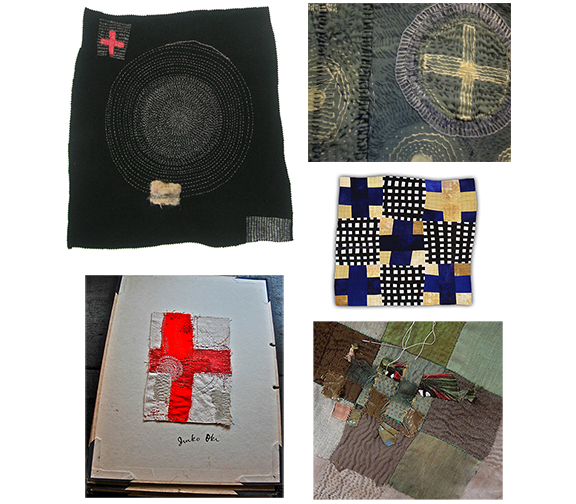 ARTISTS REPRESENTED ABOVE, CLOCKWISE STARTING FROM TOP LEFT (click on a name to see the artist's website):::  CHRISTINE MAUERSBERGER ,  JUDITH MARTIN ,  ELEANOR McCAIN ,  JUDE HILL , AND  JUNKO OKI .