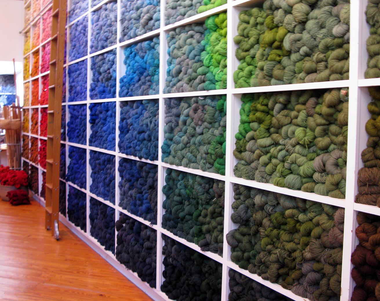 hernmarck - yarn wall