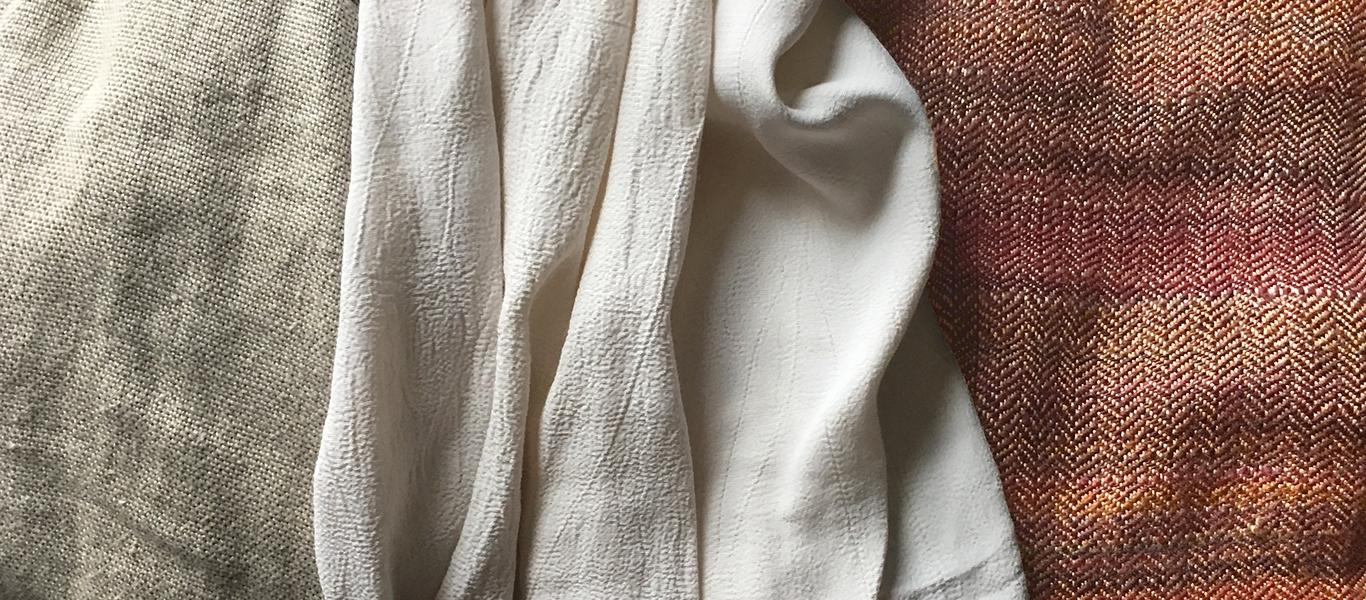 linen silk & wool