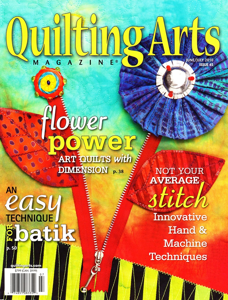Quilting Arts magazine :: June/July 2010