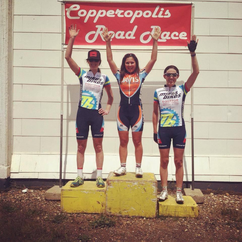 TMB Women represent well at Copperopolis Road Race!