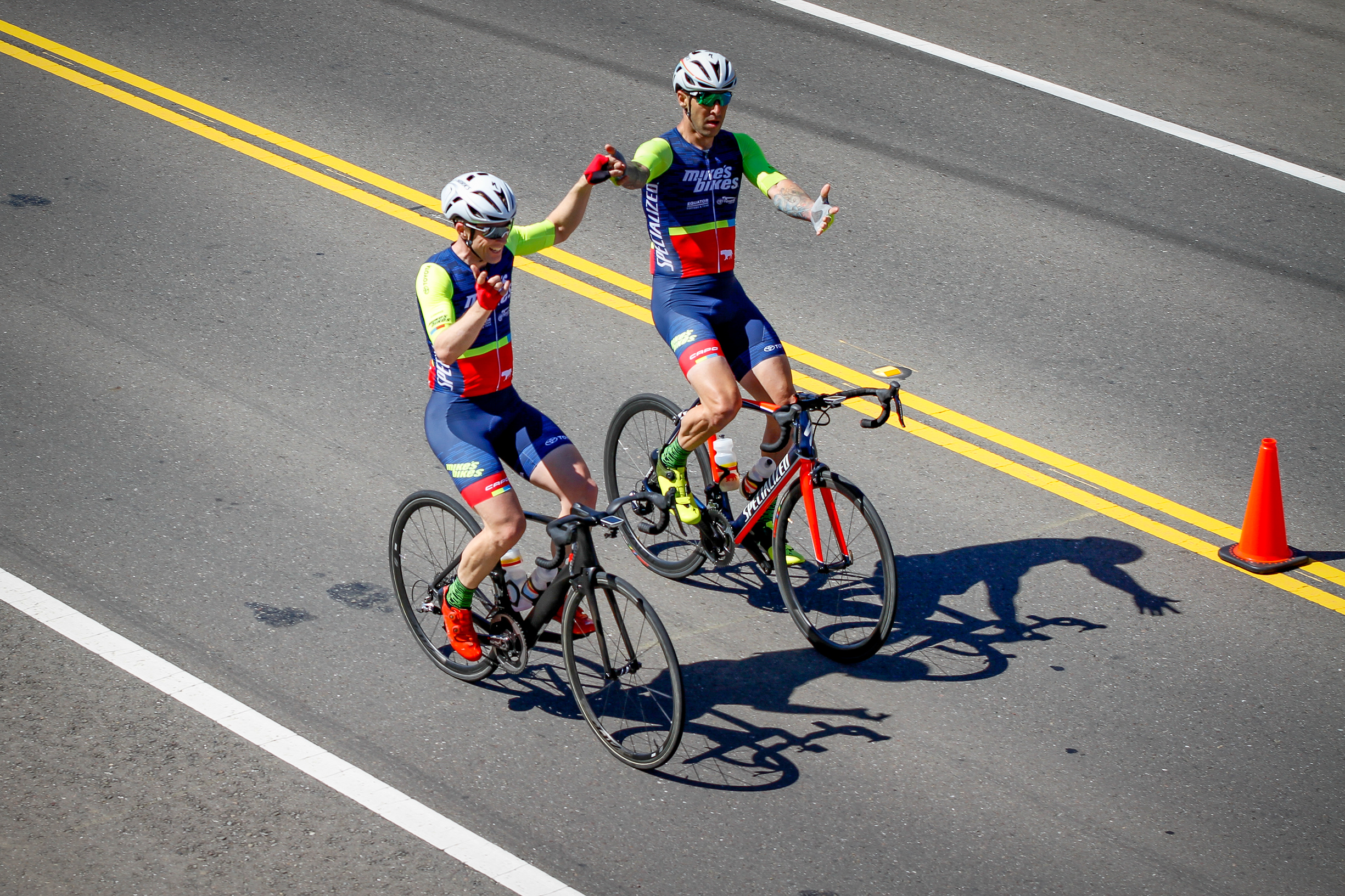 Dana Williams & Rob Amatelli Finish 1-2 at the 2017 Wente Vineyards Road Race