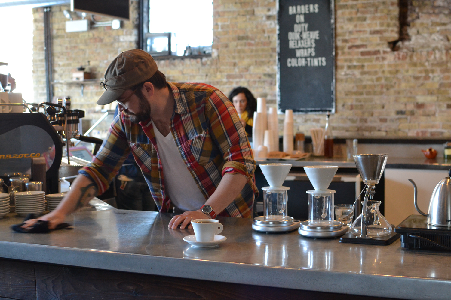 Gaslight Coffee owner Tristan Coulter