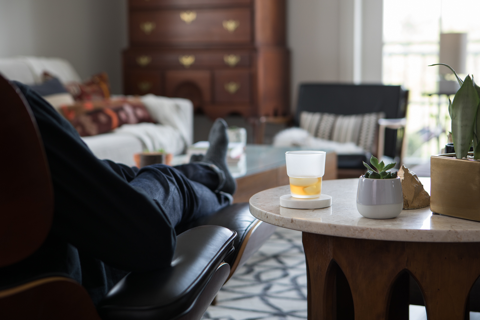 Keep your house whiskey ready - It's been said that there's no such thing as a bad bourbon—just good ones and better ones. Keep your daily sipper at the ready (no matter what kind) for a dose of evening relaxation.